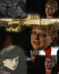 Stills from BBC One's, Inside Out South East's 'Sultan and The Showgirl', 1930s set drama-documentary. I was an expert contributor. October, 2015.