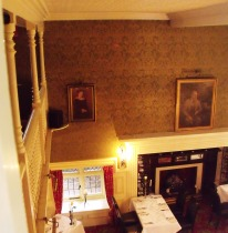 View of the dining-room at The Red House, from the peephole Albert had installed.