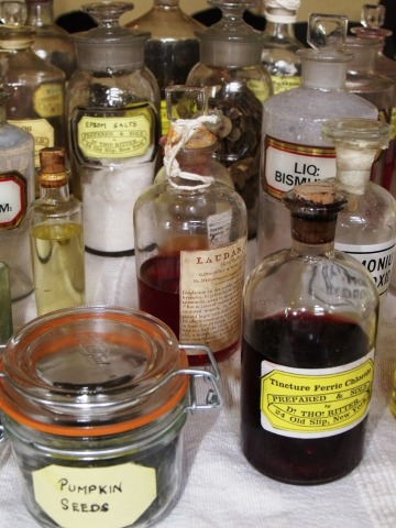 Medicines of The American Civil War. Exhibition by So.Sk.An.