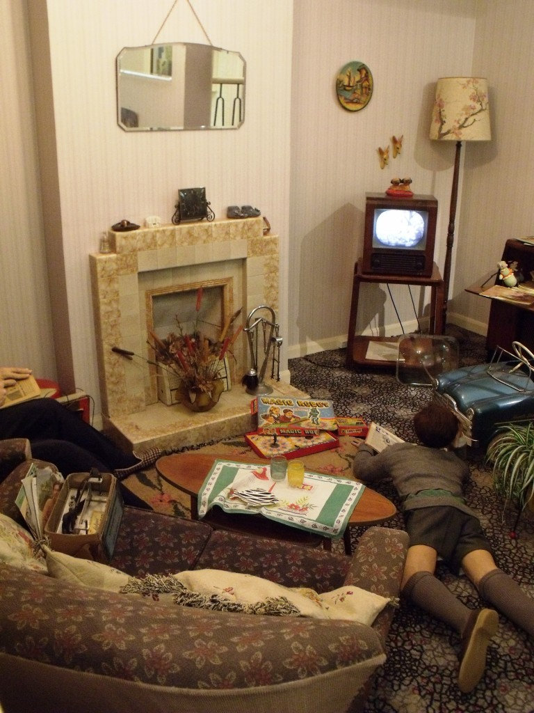 Image result for typical 1950s living room UK