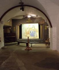 Interior of Hurst Castle's Garrison Theatre.