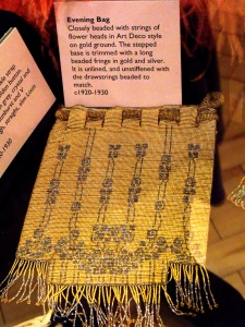 Beaded evening bag. C.1920-1930. Dazzle Exhibition. HCC Arts & Museums.