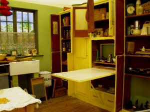 One of my favourite areas of Milestones was 'You Must Remember This'. Room settings from the 1930s-1970s designed to encourage the visitor to talk about their own memories. Above image is the 1940s kitchen.