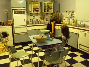 A 1960s kitchen. 'You Must Remember This', Milestones.
