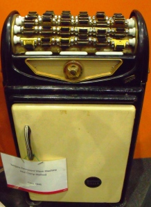 Collectors Corner. Tempera Permanent Wave Machine - Heat Clamp Method by Wella. c.1946.