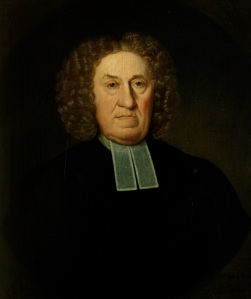 Gilbert's grandfather, also called Gilbert White. By kind permission of Gilbert White's House and Garden.