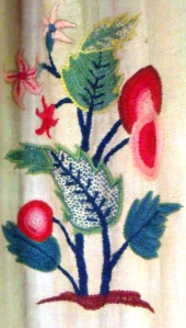 5. Detail of curtains in bedroom