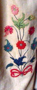 7. Detail of curtains in bedroom