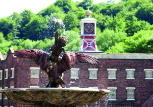 ©Ironbridge Gorge Museum Trust. The Coalbrookdale Museum of Iron. The Museum contains a vast display of domestic and decorative ironworks.