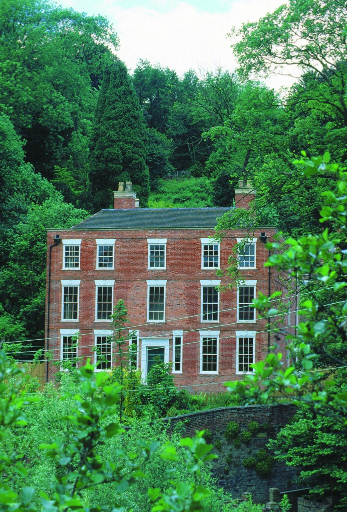 ©Ironbridge Gorge Museum Trust. Dale House, the Darby family country seat which overlooked the ironworks. Construction of the house was begun by Darby I in 1715. Dale House is part of the Ironbridge site and is open to the public.