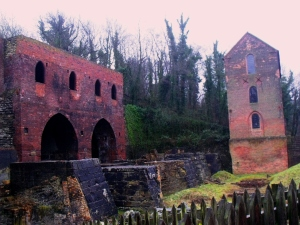 Madeley Wood Company Blast Furnaces, Blists Hill.©Come Step Back in Time