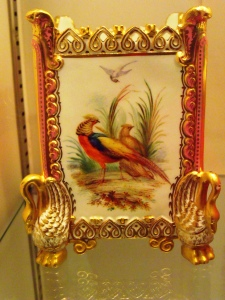 ©Come Step Back in Time. Example of John Randall's talent for painting birds.