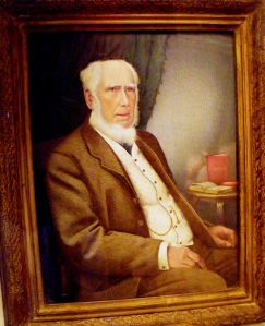 ©Ironbridge Gorge Museum Trust. Portrait of John Randall on display at Coalport China Museum.