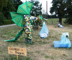George and the dragon.