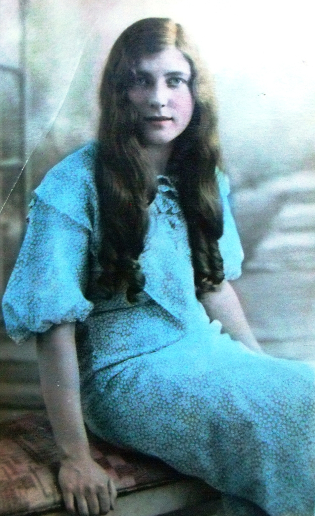 My grandmother as a young girl in the late 1920s.