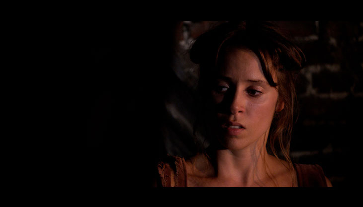 Molly (Candis Nergaard). Film still from Magwitch (2013). Image courtesy of Violafilms.