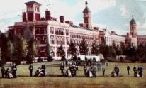 Postcard showing the Royal Victoria Military Hospital, Netley.