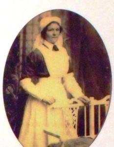 Mary Sangster, a Hampshire VAD.