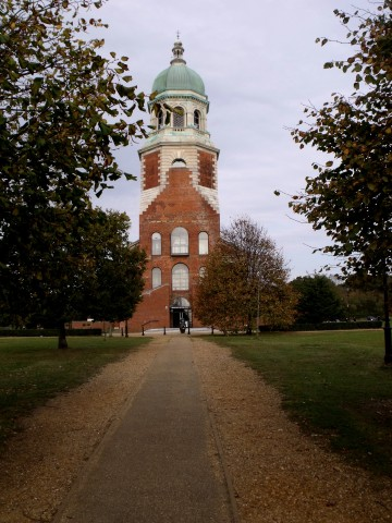 The Royal Chapel. Only surviving building of the former Royal Victoria Military Hospital, Netley.