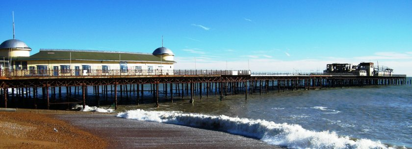 Hastings pier, November, 2013. ©Come Step Back In Time.