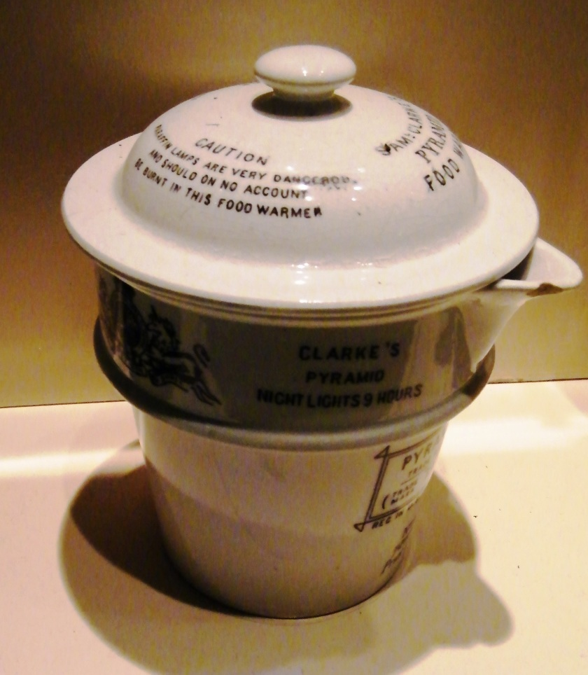 Food Warmer c.1915 used in the Gallipoli campaign. On display at The Royal Marines Museum, Eastney. Image ©Come Step Back in Time.
