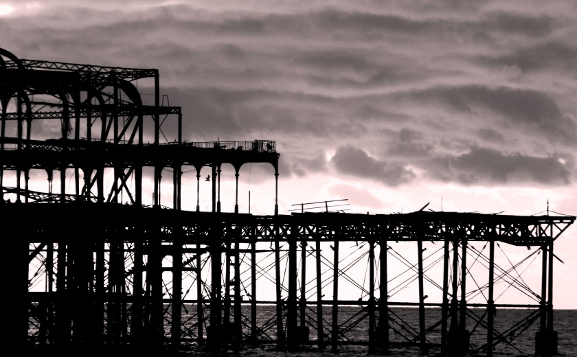 West Pier Brighton, November, 2013. ©Come Step Back In Time.