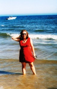 Me on Bournemouth beach in the 1990s. ©Come Step Back In Time.