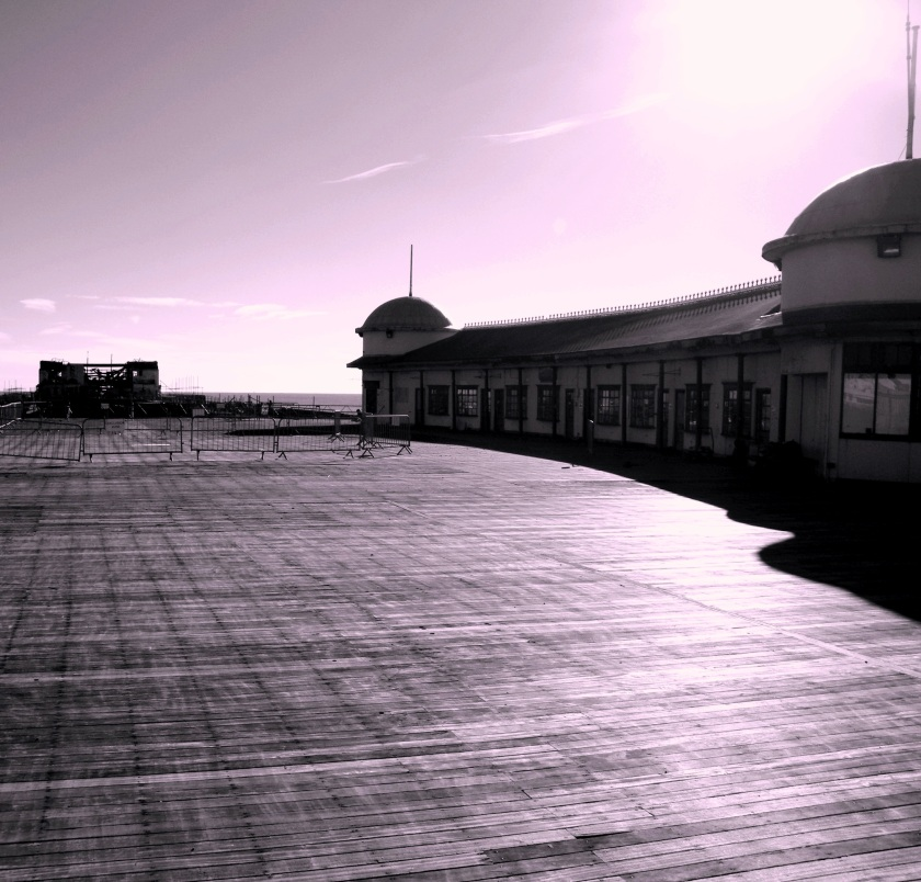 Hastings pier, November 2013. ©Come Step Back In Time.