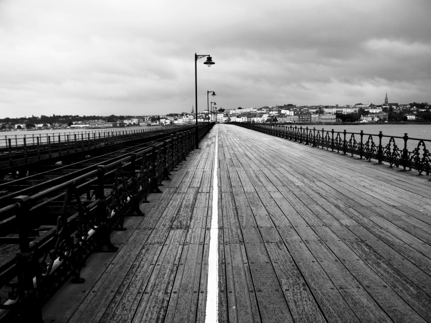 Ryde pier, Isle of Wight, November, 2013. ©Come Step Back In Time.