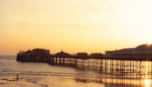 Brighton Pier. Early 1980s. From my family archive.
