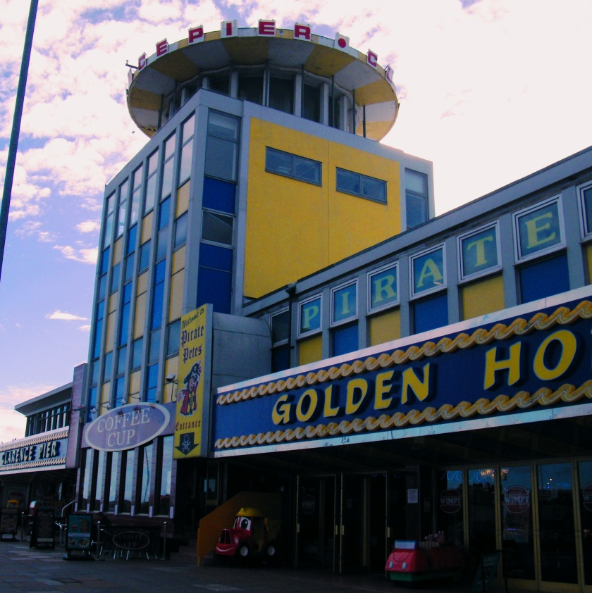 Front view of Clarence Pier, Southsea. This new building opened on 1st June, 1961. Still a popular attraction in 2014. ©Come Step Back In Time.
