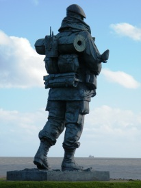 'Per Mare, Per Terram' - by Sea and Land. Moto of The Royal Marines.