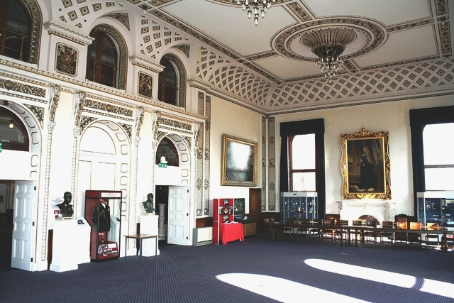 Mountbatten Dining Room showing the Musicians' Gallery No Number © Courtesy of the Trustees of the Royal Marines Museum