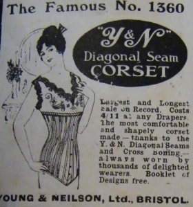 Corset advert from 1915.