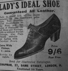 Advert from 1916.