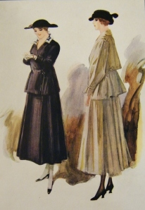 Featured in Debenham & Company's 'Spring Fashions, 1916'. Catalogue from Lucy's private collection.