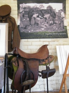 The Romsey War Horse pop-up Exhibition, Ranvilles Farm, featuring work by Sculptor Amy Goodman. ©Come Step Back In Time.