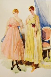 Tailor-made wool and Featured in Debenham & Company's 'Spring Fashions, 1916'. Catalogue from Lucy's private collection.