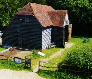 The Chineham barn at Bursledon Windmill. ©Come Step Back In Time.