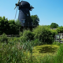 Bursledon Windmill, Hampshire. ©Come Step Back In Time.