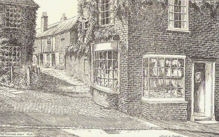Illustration from Rye & District Guide (1950).
