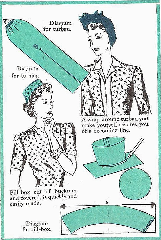 From my copy of The Complete Book of Sewing by Constance Talbot (1948). ©Come Step Back in Time.