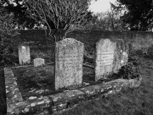 Jane Austen's mother and sister are buried in the churchyard at St. Nicholas Church on the Chawton estate. ©Come Step Back In Time