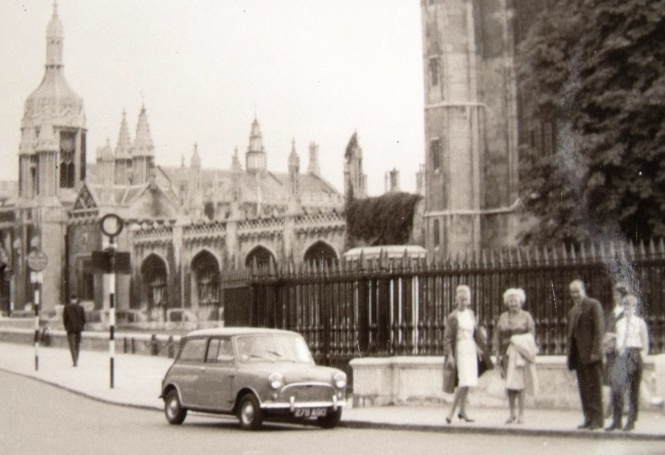 My mum and family in Cambridge c.1965. ©Come Step Back In Time