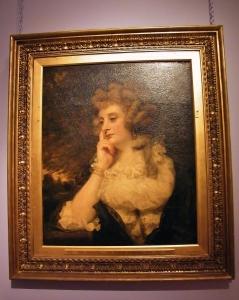 Mrs Jane Braddyll (1788) in 'penseroso' pose. ©Come Step Back In Time