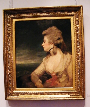 Mrs Mary Robinson (1783-1784). Oil on canvas. The Wallace Collection. ©Come Step Back In Time