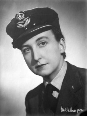 Pearl in her WAAF uniform before she left for France in 1943. ©Code Name Pauline: Memoirs of a World War II Special Agent by Pearl Witherington Cornioley with Hervé Larroque, edited by Kathryn J. Atwood. Chicago Review Press, 2013.