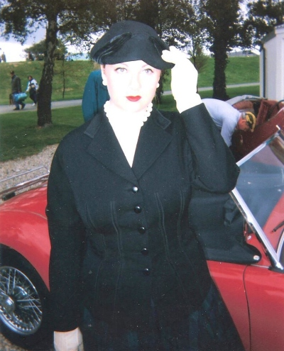 Me at Goodwood Revival 1998. ©Come Step Back In Time