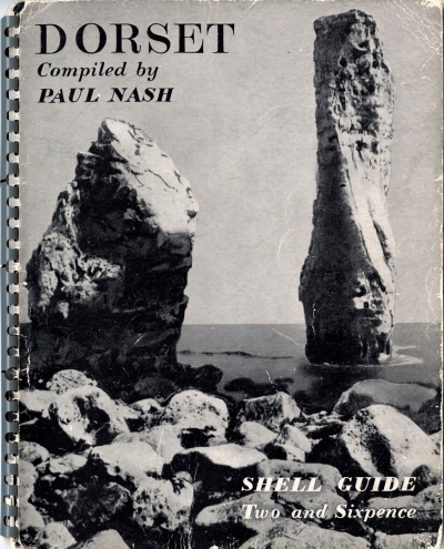 'Dorset Shell Guide cover' by Paul Nash. (1936). ©Shell Art Collection