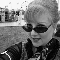 1960s selfie at Goodwood Revival 2015.